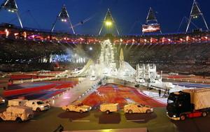ロンドンオリンピック閉幕